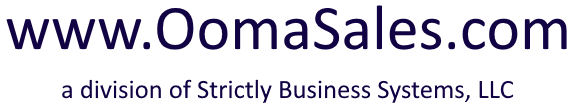 Oomasales.com by Strictly Business Systems